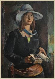 Devojka sa knjigom
