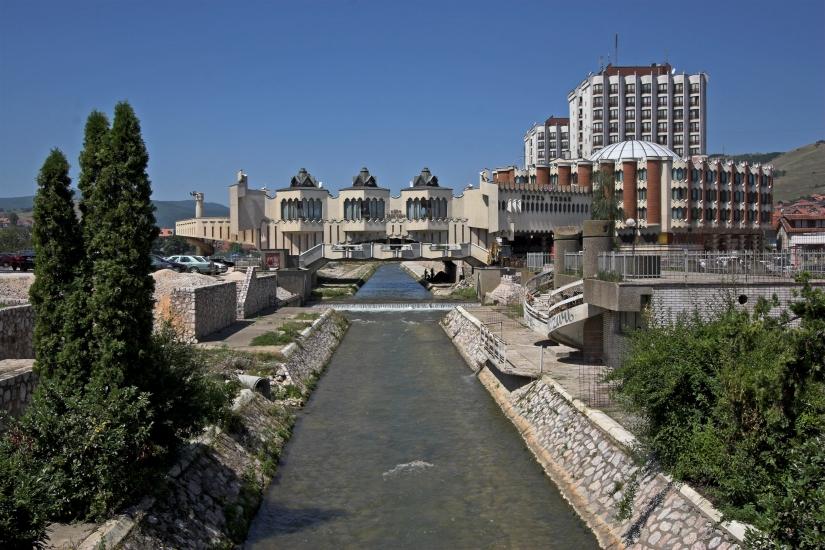 reka Raška u Novom Pazaru