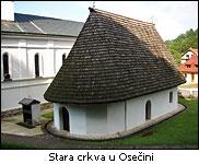 Osečina - stara crkva s početka 18.veka