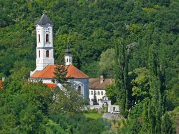Ravanica monastery on Fruska Gora mountain