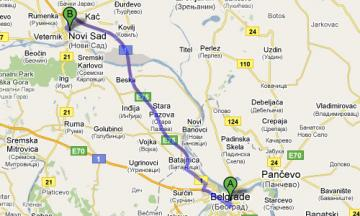 Transfer from Novi Sad to Belgrade Airport Nikola Tesla - Surčin