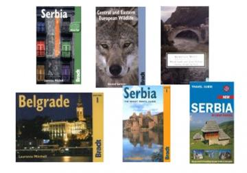 Books and Travel Guides about Serbia