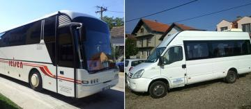 Mini busses and bus renting