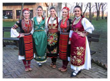 Welcome and introducing national costumes
